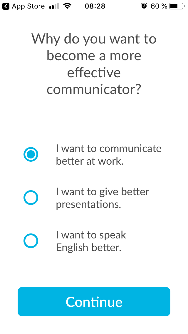 Orai - was möchte man mit der App erreichen? Für Sprecher und Vortragende