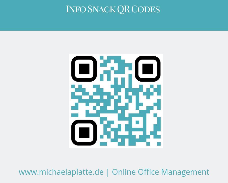 dynamischer QR Code als mobile Visitenkarte