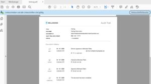 Hellosign PDF Vertrag unterschrieben 2