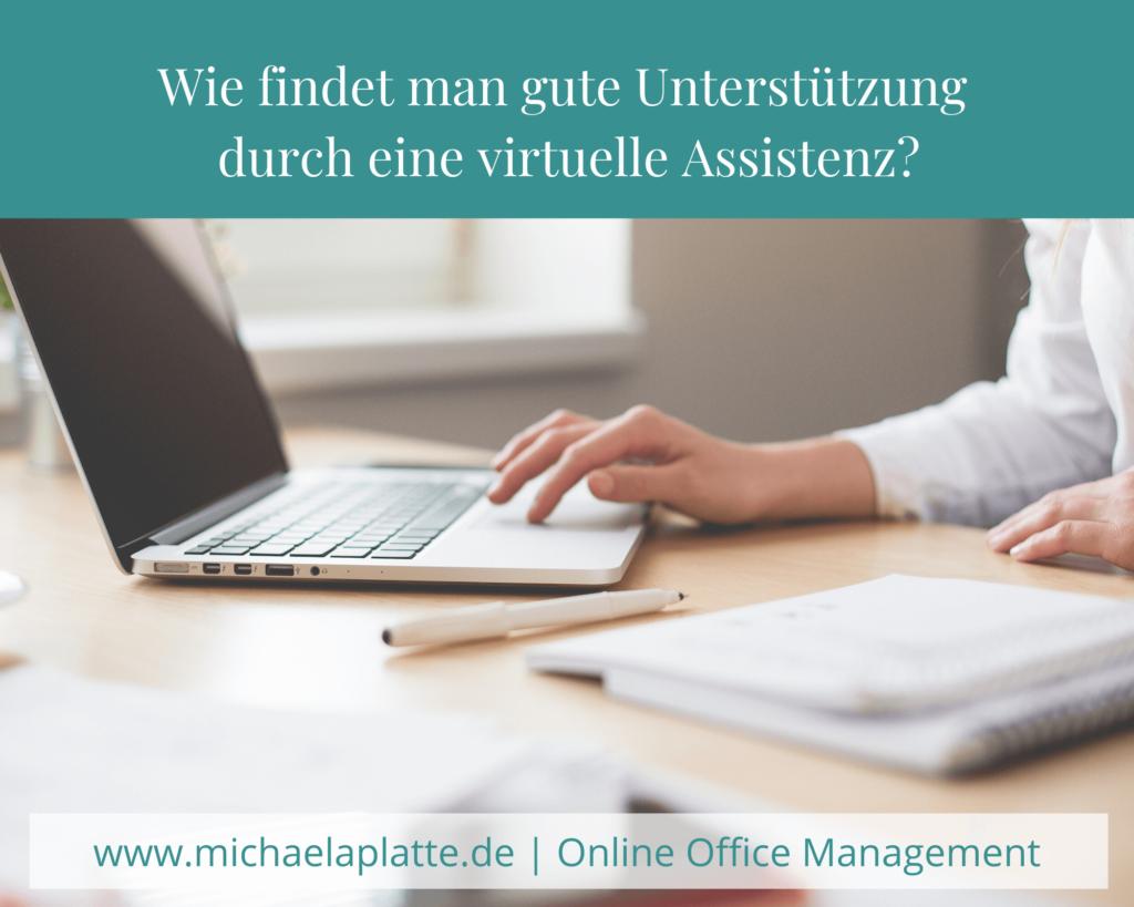 virtuelle Assistenz, Backoffice, Produktivität