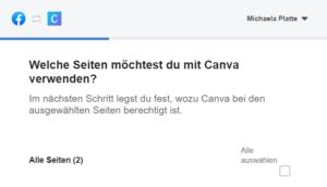 neues Canva Feature Posts planen