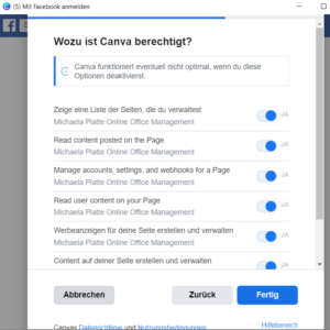 neues Canva Feature Posts planen