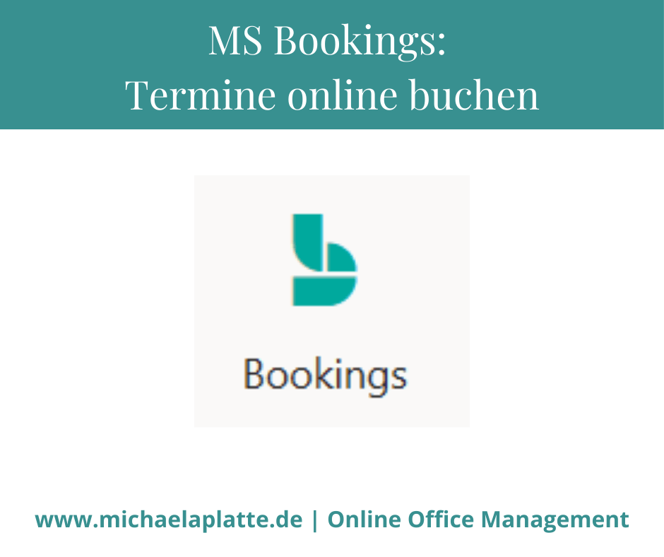 mit MS Bookings Termine online planen