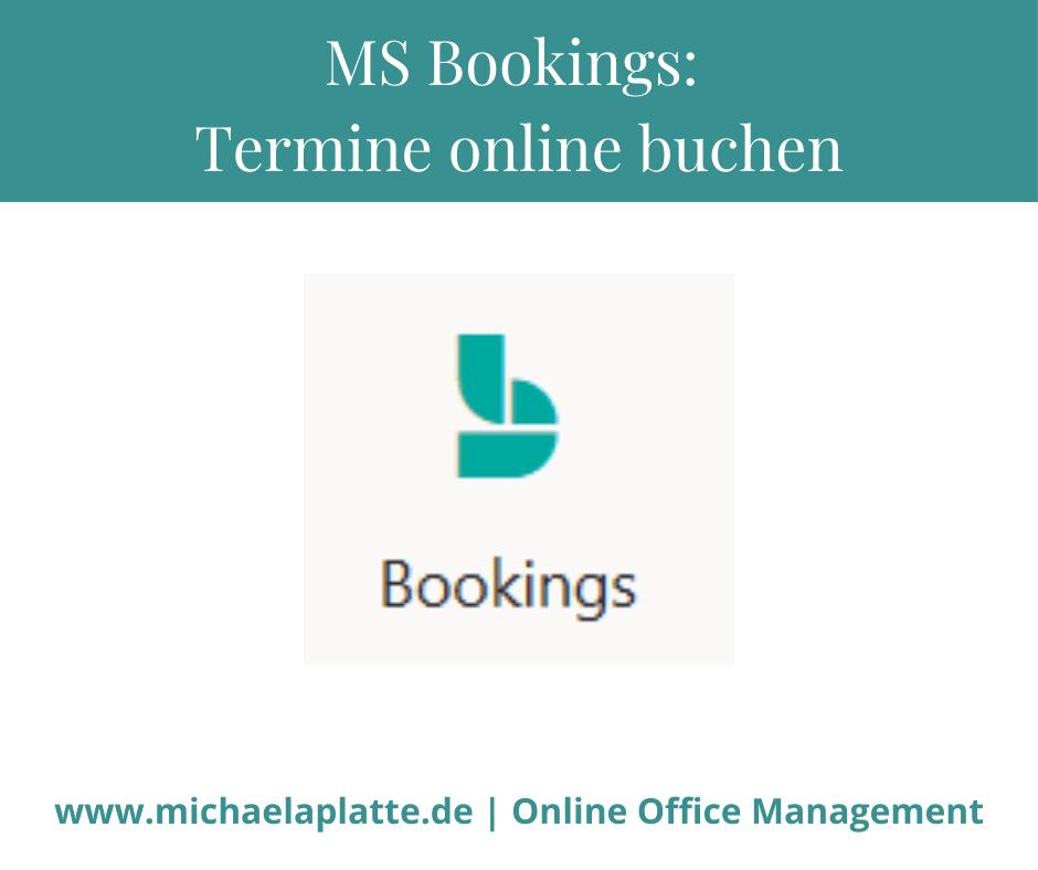 mit MS Bookings Termine online planen