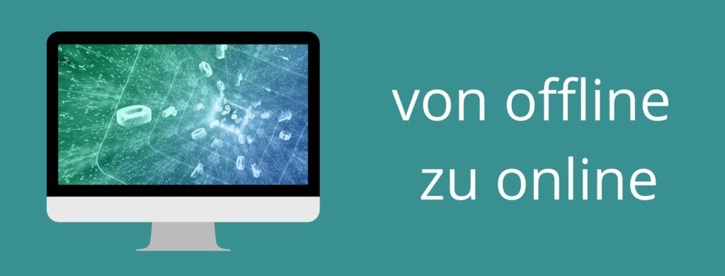Online-Kurse erstellen von offline zu online