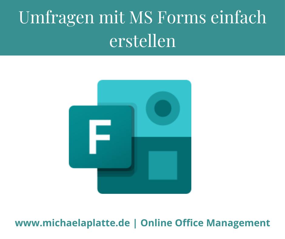 Umfragen mit MS Forms einfach erstellen