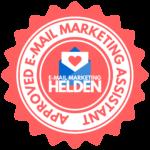 E-Mail Marketing Helden Badge